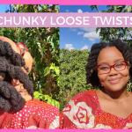 CHUNKY LOOSE TWISTS THUMB