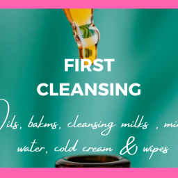 first cleansing for healthy skin